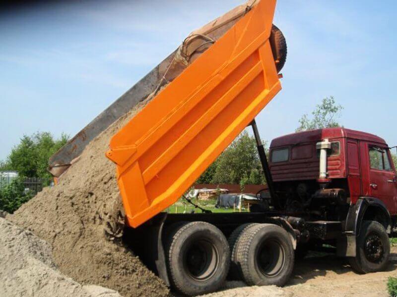 Доставка песка В Чеховском Районе