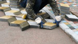 Укладка тротуарной плитки Чехов и Чеховский район