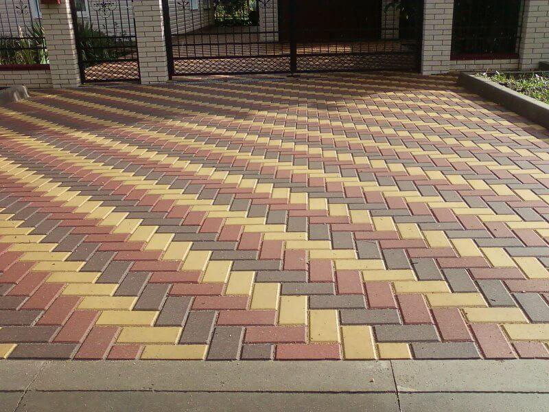 Укладка тротуарной плитки в Москве и Московской области
